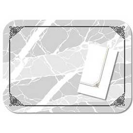 "Dinex DX5320MNS Marble Elegance Non-Skid Straight Edge Round Corner-Fits 15""x20"" Tray, 1000/Cs by"