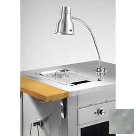 """Dinex DXDMC2 Dinexpress Meat Carving Counter W/Cutting Board, Heat Lamp, Drip Pan 35""""... by"""