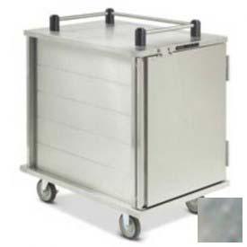 Dinex DXICT10S Room Service Cart, Enclosed, Stainless Steel by