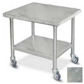 """Buy Dinex DXICTABLEM Table For Induction Charger, 30""""L x 24""""D, Stainless Steel"""