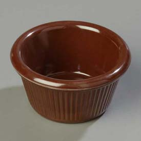Carlisle S27969 Fluted Ramekin 2 Oz., Chocolate Package Count 48 by