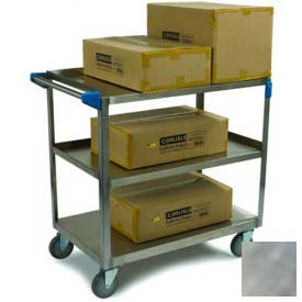 Carlisle UC5031827 Stainless Steel Utility Cart 500 Lb. Capacity 18x27 by