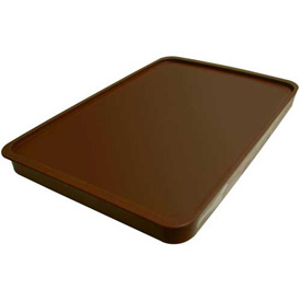 Cortech USA, 3000CL, X-Tray Food Tray Lid, Insulated, Chocolate, 10/Pack by