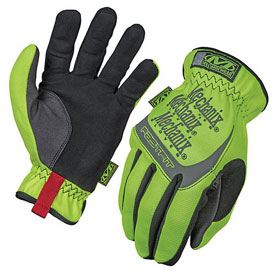Mechanix Wear Safety Fastfit Gloves - Yellow - X-Large