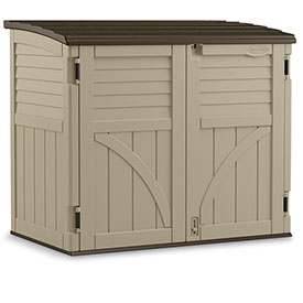 "Suncast Horizontal Storage Shed 53""Wx32-1/2""Dx45-1/2""H by"