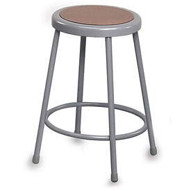 "NPS Shop Stool -Hardboard - 30"" H - Gray"