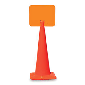"""Snap-On Signs For Traffic Cones 14""""Wx10""""H Blank by"""