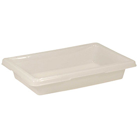 Rubbermaid Bus Utility Tote Box FG350700WHT 18 x 12 x 3-1/2 White Package Count 6 by