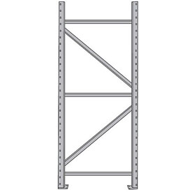 "Upright Frames For Pallet Rack - 36X96"" - 18,000-Lb. Maximum Capacity"