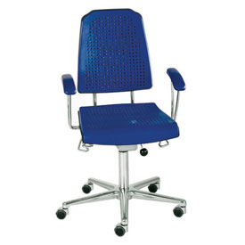 Milagon Aklaim Seat And Back Pads For Premium Multi-Shift Blue And Black Seating - Blue