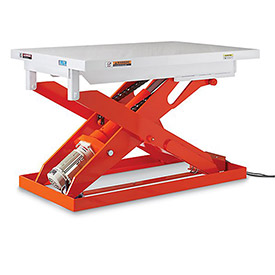 "Relius Elite All Electric Premium Lift Table - 2200 Lb. Capacity - 31.5""L x 47.2""W Platform"