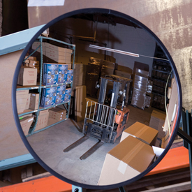 """Convex Safety Mirrors Glass 12"""" Dia. Indoor by"""