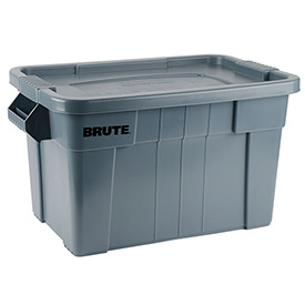 Rubbermaid Brute Tote FG9S3100GRAY - 27-7/8 x 17-3/8 x 15-1/8 - Gray - Pkg Qty 6