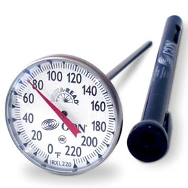CDN ProAccurate Insta-Read Large Dial Cooking Thermometer by