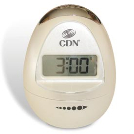 CDN Egg-Shaped Timer Pearl White by