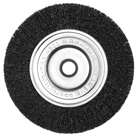 "Century Drill 76864 Bench Grinder Wire Wheels 6"" Dia. Steel Crimped by"