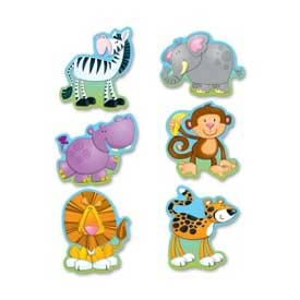 Carson-Dellosa® Jungle Animals Cut-Outs, Multi-Color, 36/Pack