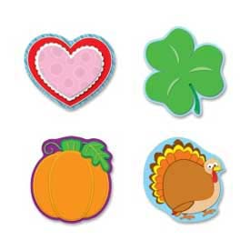 Carson-Dellosa® Holiday Cut-Out Set, 4/Pack
