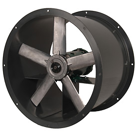 Continental Fan ADD18-1/3-3 Tube Axial Fan Direct Drive Three Phase 4600 CFM 1/3 HP 115/230V