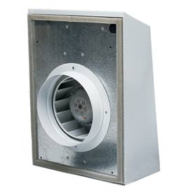"Continental Fan EXT100A External Duct Fan Mount 4"" 118 CFM"