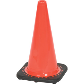 "18"" Traffic Cone, Non-Reflective, Orange W/ Black Base, 3 lbs, 03-500-05"