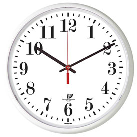 "Buy Chicago Lighthouse 12.75"" Round Indoor/Outdoor Wall Clock, White"