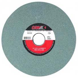"Click here to buy CGW Abrasives 34644 Green Silicon Carbide Surface Grinding Wheels 7"" 60 Grit Aluminum Oxide Package Count 10."