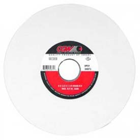 """CGW Abrasives 34683 White Aluminum Oxide Surface Grinding Wheels 8"""" 46 Grit Aluminum Oxide Package Count 10 by"""