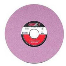 "CGW Abrasives 59005 Ruby Surface Grinding Wheels 8"" 46 Grit Aluminum Oxide Package Count 10 by"