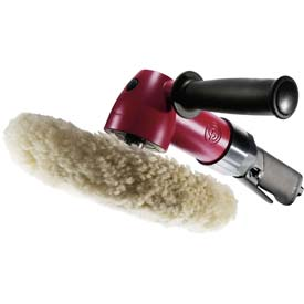 """Chicago Pneumatic CP7269P, 7"""" Heavy Duty Angle Polisher, 2600 RPM,..."""