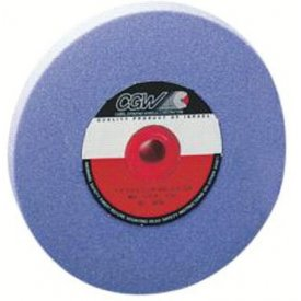 "Click here to buy CGW Abrasives 34367 Az Cool Blue Surface Grinding Wheels 8"" 46 Grit Aluminum Oxide Package Count 10."