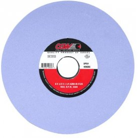 """Click here to buy CGW Abrasives 34454 Az Cool Blue Surface Grinding Wheels 14"""" 60 Grit Aluminum Oxide Package Count 2."""