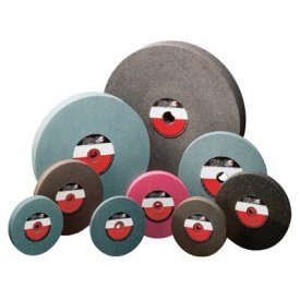 "CGW Abrasives 35019 Bench & Pedestal Grinding Wheel 6"" x 1"" x 1 "" 46 Grit Aluminum Oxide Package Count 10 by"