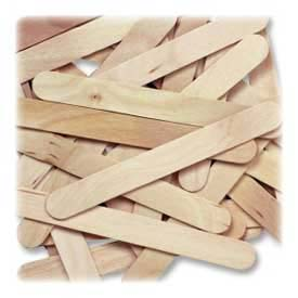 Chenille Kraft® Wood Jumbo Craft Sticks, Natural, 500/Box
