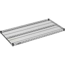 "Nexel S1836N Nexelon Wire Shelf 36""W x 18""D with Clips"