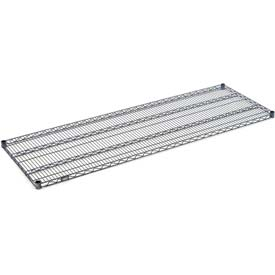 "Nexel S1872N Nexelon Wire Shelf 72""W x 18""D with Clips"