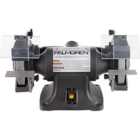 """Palmgren 9682071 Bench Grinder W/Wheel Guards & Dust Collection Ports , 7"""" Wheel Dia by"""
