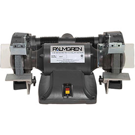 """Palmgren 9682081 Bench Grinder W/Wheel Guards & Dust Collection Ports , 8"""" Wheel Dia by"""
