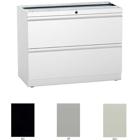 "Compatico CMW 30""W 2 Drawer Supporting Lateral File - Gray"