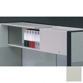 "Compatico CMW 48""W Steel Flipper Door Storage Unit - Gray"