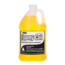 Foamy Coil™ Rinse Coil Cleaner - Pkg Qty 4