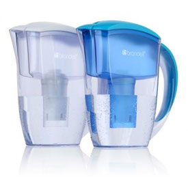 Brondell H10CP-B Blue H2O+ Water Pitcher Filtration System Blue 12 Each / Case by