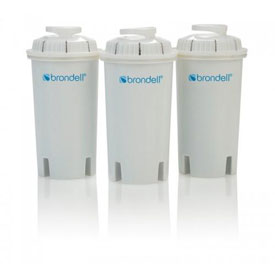 Brondell HF-10 H2O+ Water Pitcher Filter Cartridge by