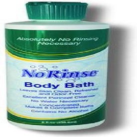 CleanLife Products NRN950CS No-Rinse Body Bath with Odor Eliminator 1 gal Bottle 1 case (4... by
