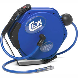"Cejn 19-911-5011 1/4"" X 30' Air Hose Reel, PUR Hose, 1/4"" Male NPT Connection"
