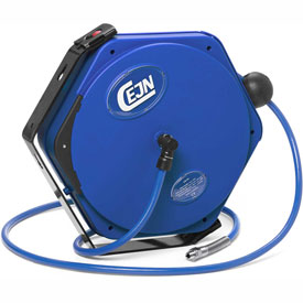 "Cejn 19-911-5121 3/8"" X 46' Air Hose Reel PUR Hose, 1/4"" Male NPT Connection"