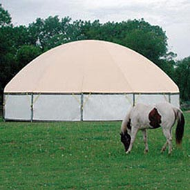 High Crown Arena 60' Diameter Tan