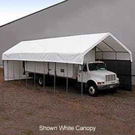 Daddy Long Legs Canopy 1240RV10T10, 12'W x 40'L, Tan