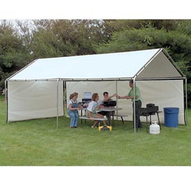 WeatherShield Portable White Canopy 8'W x 10'L