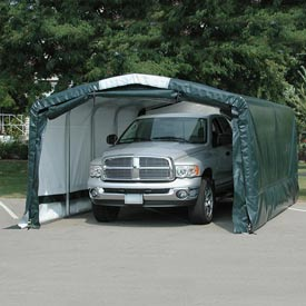 "Storage Master Elite 12'W x 12'4""H x 30'L Gray"